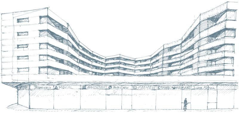 Bloque Móstoles Fase I. Premio ámbito de ordenación singular AOS-11 Plan General de Móstoles - Otto Medem Arquitectura