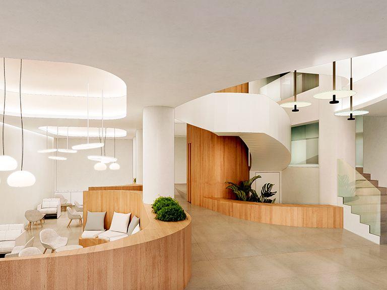 Commercial architecture - Clínica Martín del Yerro, cirujanos plásticos - Otto Medem Arquitectura