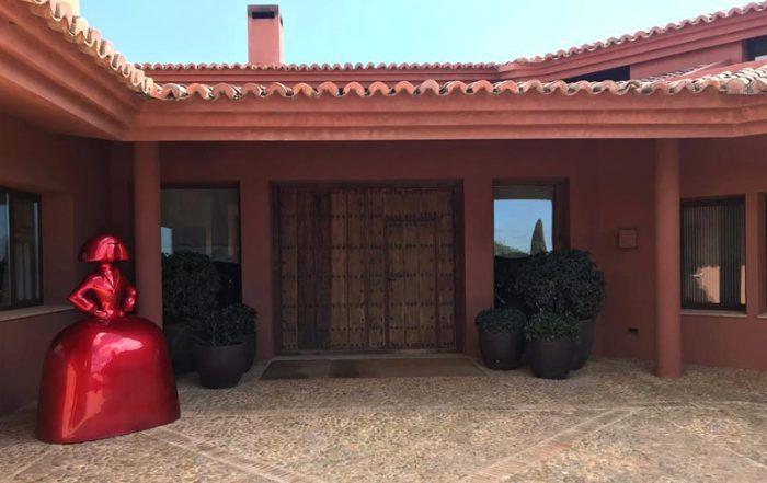 Arte y arquitectura en el alojamiento cinegético El Barranco