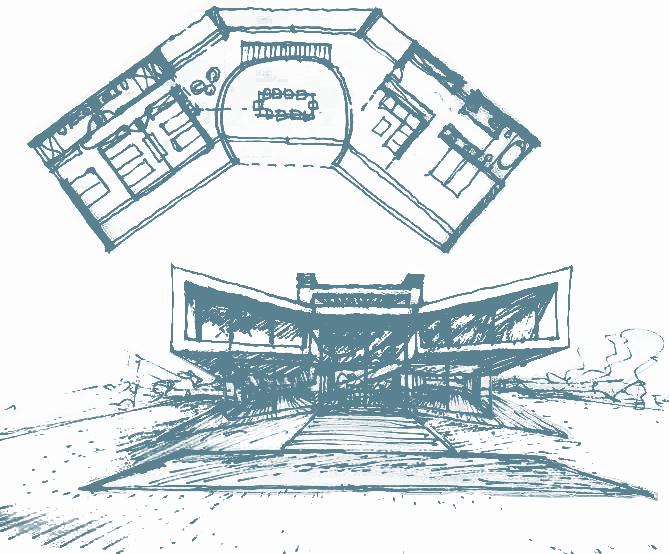 Modular house 2 floors - Otto Medem Arquitectura
